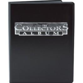 Mini Album Negro con hojas de 4 bolsillos Ultra Pro Collector