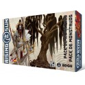 Rising Sun: Pack de Monstruos - expansión juego de mesa
