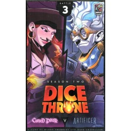 Dice Throne Season Two: Cursed Pirate VS Artificer - expansión juego de mesa