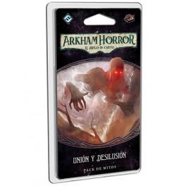 Arkham Horror: Union y desilusion - expansión juego de cartas