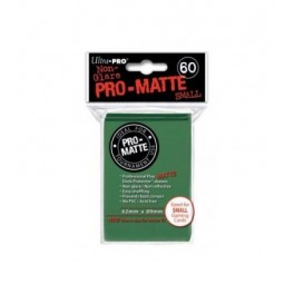 60 Fundas Protectoras Ultra Pro Verde Mate. Tamaño 62x89