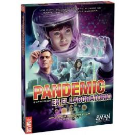 Pandemic en el laboratorio juego de mesa