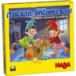 Tocado, encontrado - juego de mesa para niños