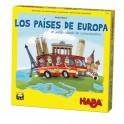 Los paises de Europa - juego de mesa para niños