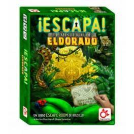 Escapa: El misterio de El Dorado - juego de cartas