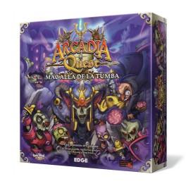 Arcadia Quest: Mas alla de la tumba juego de mesa