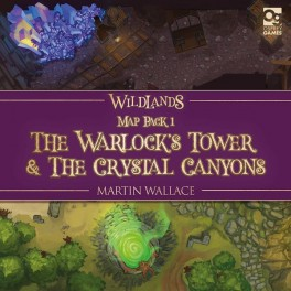 Wildlands Map Pack 1: The Warlocks Tower and The Crystal Canyons - expansion juego de mesa