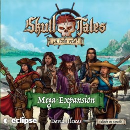 Skull Tales A toda vela: Mega Expansion - expansion juego de mesa