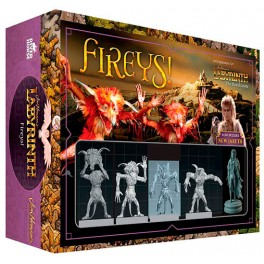 Dentro del laberinto: expansion Fireys - expansión juego de mesa