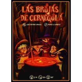 Las brujas de Cernegula juego de cartas