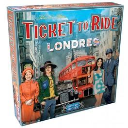 Aventureros al tren: Londres - juego de mesa