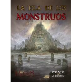 Mythras: La Isla de los Monstruos - suplemento de rol