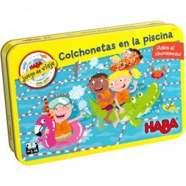 Colchonetas en la piscina - juego de mesa para niños