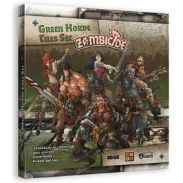 Zombicide Black Plague: Green Horde Tiles Set - expansión juego de mesa