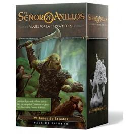 El Señor de los Anillos Viajes por la Tierra Media: Pack de figuras Villanos de Eriador - expansión juegos de mesa
