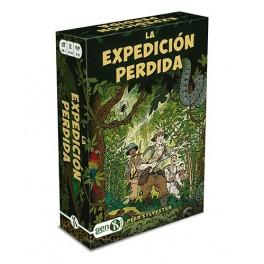 La expedicion perdida - juego de cartas