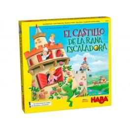El Castillo de la rana escaladora juego de mesa para niños de haba