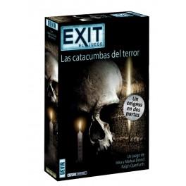 Exit: Las catacumbas del terror - juego de cartas