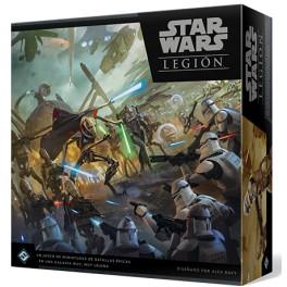 Star Wars Legion: Las Guerras Clon - juego de mesa