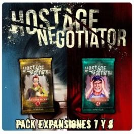 Hostage el negociador - expansiones 7 y 8 - expansión juego de cartas