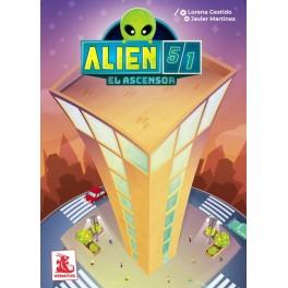 Alien 51: El ascensor - juego de mesa