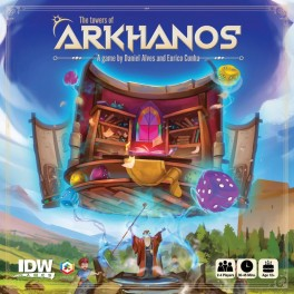 The Tower of Arkhanos - juego de mesa