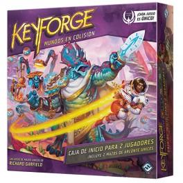 KeyForge: Mundos en Colision Caja de inicio para dos jugadores - juego de cartas