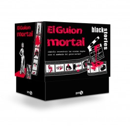 Black Stories: El Guion Mortal - juego de cartas