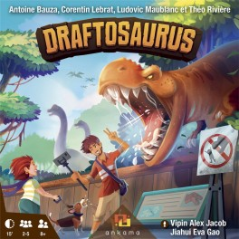 Draftosaurus - juego de mesa