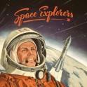 Space Explorers - juego de cartas