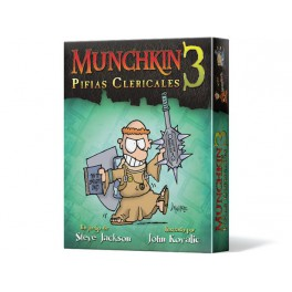 Munchkin 3: Pifias Clericales juego de cartas