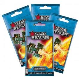 Star realms united: escenarios - expansión juego de mesa