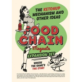 Food Chain Magnate: The Ketchup Mechanism and other ideas - expansión juego de mesa