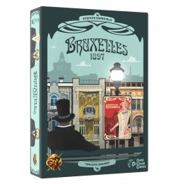 Bruxelles 1897 - juego de cartas