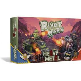 Rivet wars: Heavy metal