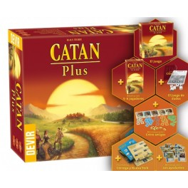 Catan Plus Edicion 2019 - juego de mesa
