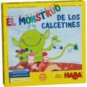 El monstruo de los calcetines - juego de mesa para niños