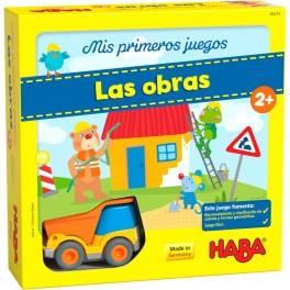 Mis Primeros Juegos: Las Obras - juego de mesa para niños