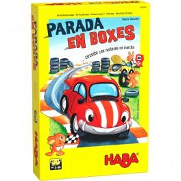 Parada en Boxes - juego de mesa para niños
