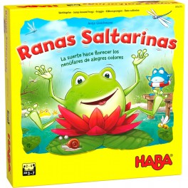 Ranas Saltarinas - juego de mesa para niños