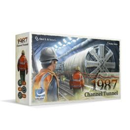1987 Channel Tunnel (edicion verkami) + Promo - juego de mesa