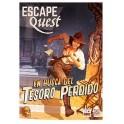 Escape Quest: en busca del Tesoro Perdido - libro juego