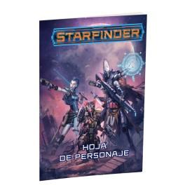 Starfinder: Hoja de personaje - suplemento de rol