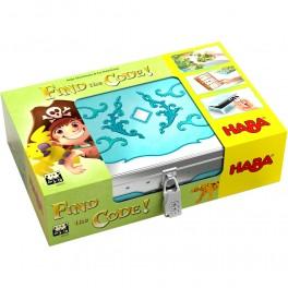 Find the code! Isla Pirata - juego de mesa para niños