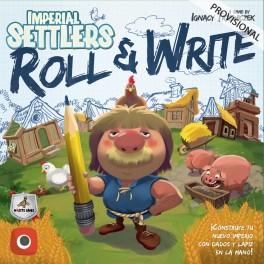 Colonos del Imperio: Roll and Write - juego de dados