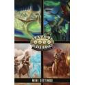 Savage Worlds Edicion aventura: Pantalla + Mini Ambientaciones - suplemento de rol