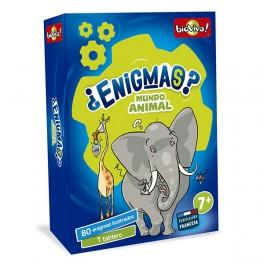Enigmas Mundo Animal - juego de cartas