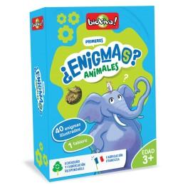 Mis primeros Enigmas Animales - juego de cartas