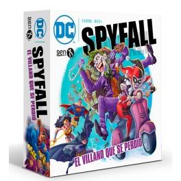 DC Spyfall: El Villano que se Perdio - juego de cartas