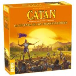 Catan: La leyenda de los Conquistadores - expansion juego de mesa